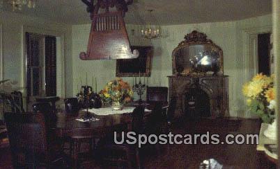 Longwood Dining Room - Natchez, Mississippi MS Postcard