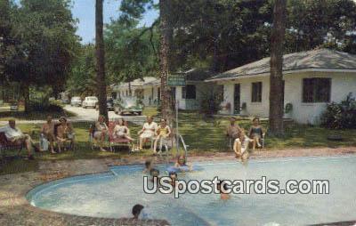 Sea Gull Tourist Court - Biloxi, Mississippi MS Postcard