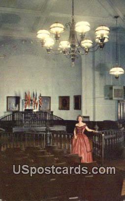Original Hall of Justice, Old Court House - Vicksburg, Mississippi MS Postcard