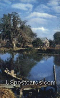 Along the Bayou - Misc, Mississippi MS Postcard