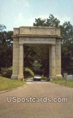 Vicksburg Arch - Mississippi MS Postcard