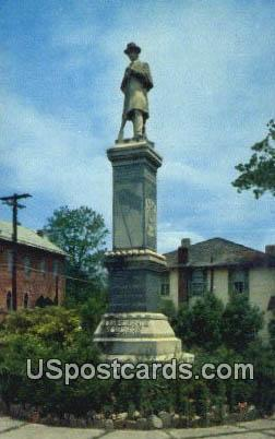 Confederate Memorial - Fa-ette, Mississippi MS Postcard
