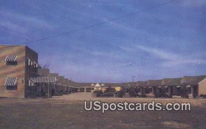 Cleveland Motel - Mississippi MS Postcard