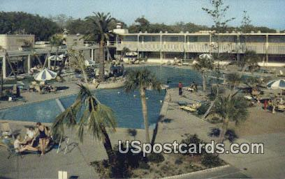 Buena Vista Beach Motel & Hotel - Biloxi, Mississippi MS Postcard