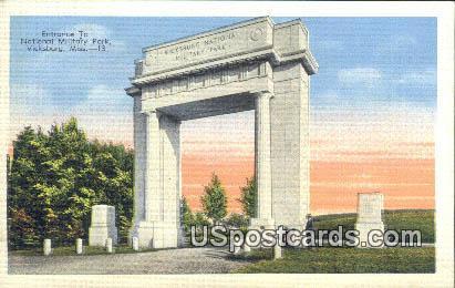 National Military Park - Vicksburg, Mississippi MS Postcard