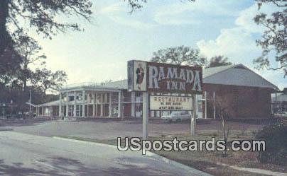 Ramada Inn - Long Beach, Mississippi MS Postcard
