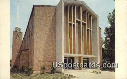 First Baptist Church - Yazoo City, Mississippi MS Postcard