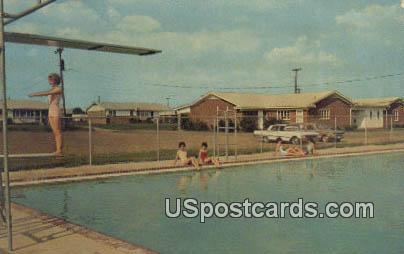 Community Swimming Pool - Senatobia, Mississippi MS Postcard