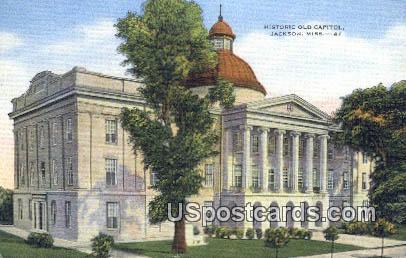 Historic Old Capitol - Jackson, Mississippi MS Postcard