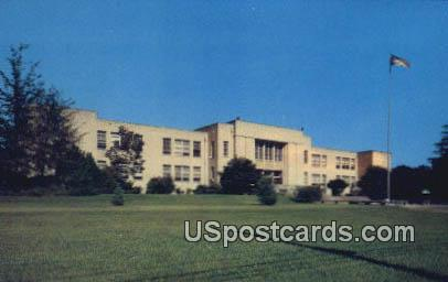 Brookhaven High School - Mississippi MS Postcard