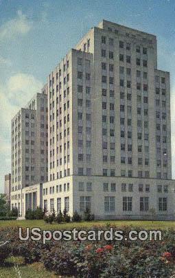 State Office Building - Jackson, Mississippi MS Postcard