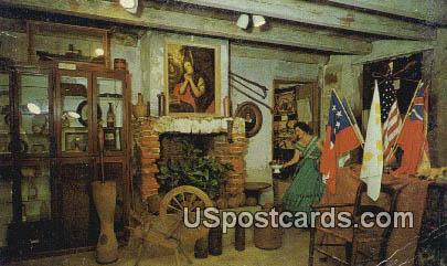 Old Spanish Fort & Museum - Pascagoula, Mississippi MS Postcard