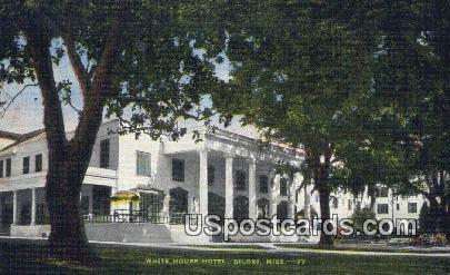 White House Hotel - Biloxi, Mississippi MS Postcard