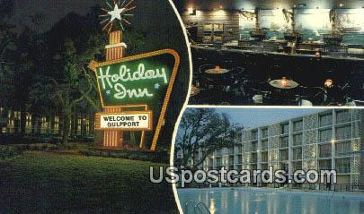 Holiday Inn of Gulfport - Mississippi MS Postcard