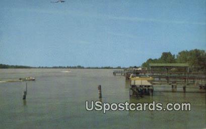 Moon Lake - Lula, Mississippi MS Postcard