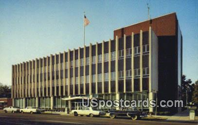Federal Building - Tupelo, Mississippi MS Postcard