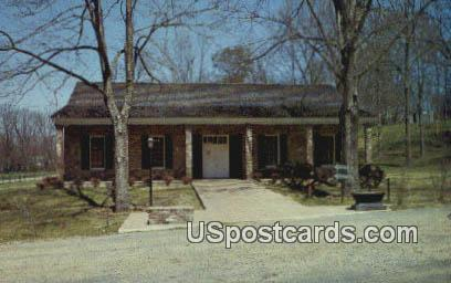 Museum & Visitors Center, Grand Gulf State Park - Port Gibson, Mississippi MS Postcard