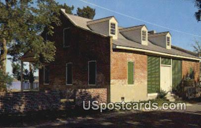 Old Brick House - Biloxi, Mississippi MS Postcard