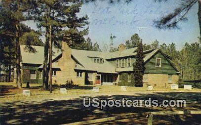Percy E Quin State Park Lodge - McComb, Mississippi MS Postcard
