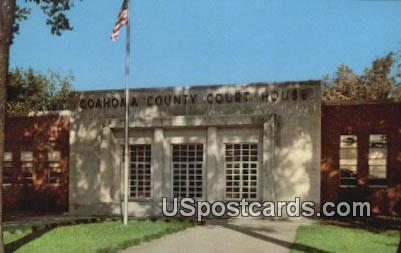 Coahoma County Court House - Clarksdale, Mississippi MS Postcard