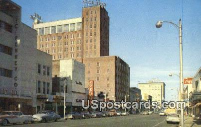 Heidelberg Hotel - Jackson, Mississippi MS Postcard
