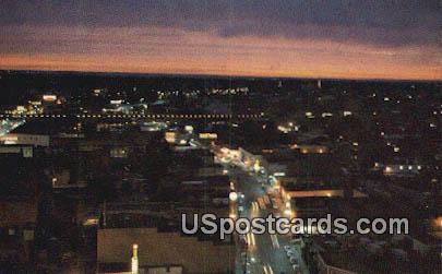 Amite Street - Jackson, Mississippi MS Postcard