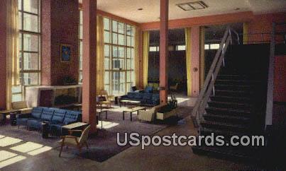 Lounge, Vandenberg Hall, Keesler AFB - Keesler Air Force Base, Mississippi MS Postcard