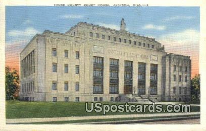 Hinds County Court House - Jackson, Mississippi MS Postcard