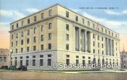 Million Dollar Building - Mississippi River Postcards, Mississippi MS Postcard