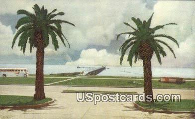 Gulf Coast - Biloxi, Mississippi MS Postcard
