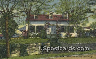 Bodley Home - Vicksburg, Mississippi MS Postcard