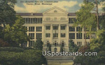 Hospital, Veterans Administration Center - Biloxi, Mississippi MS Postcard