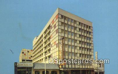 Downtowner Motor Inn - Jackson, Mississippi MS Postcard