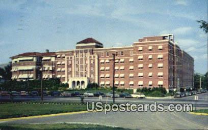 Mississippi Baptist Hospital - Jackson Postcard