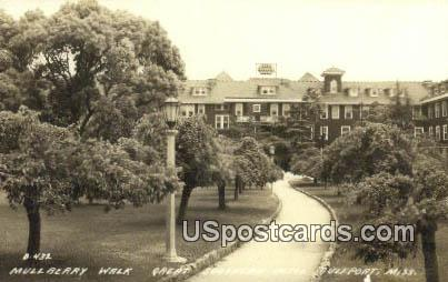 Real Photo - Great Southern Hotel - Gulfport, Mississippi MS Postcard