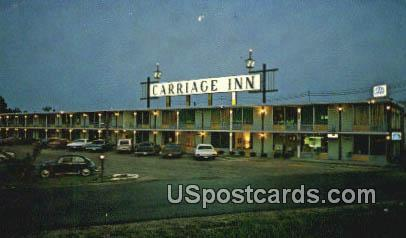 Carriage Inn - Hattiesburg, Mississippi MS Postcard