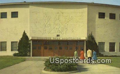 College Park Auditorium - Jackson, Mississippi MS Postcard