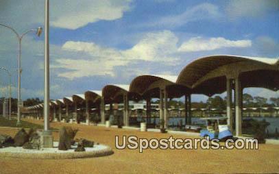 Broadwater Beach Hotel Marina - Biloxi, Mississippi MS Postcard