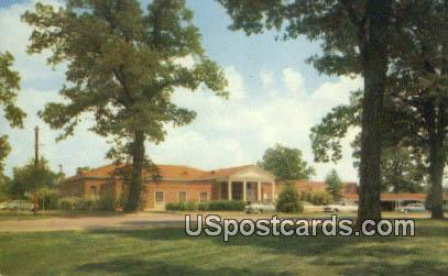 University of Mississippi - State College Postcard