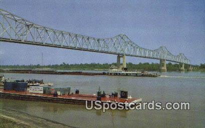 Mississippi Arkansas Bridge - Clarksdale Postcard