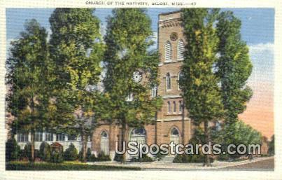 Church of the Nativity - Biloxi, Mississippi MS Postcard