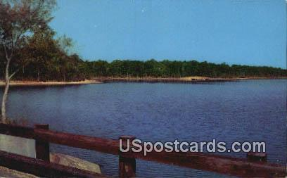 Percy Quinn Lake, Percy Quinn State Park - McComb, Mississippi MS Postcard