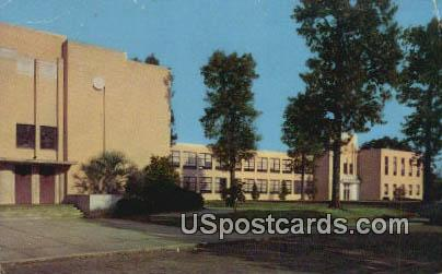 Gibson High School - McComb, Mississippi MS Postcard