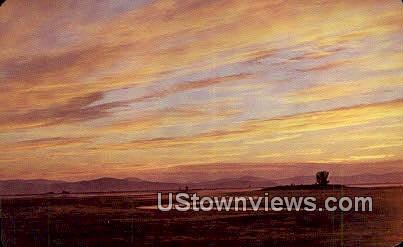 Nine Pipe National Wildlife Refuge - Missoula, Montana MT Postcard