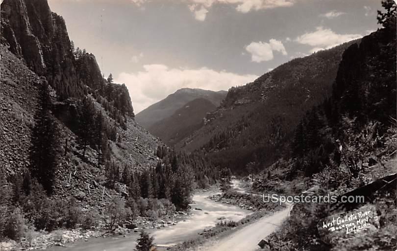 West Gallatin River - Bozeman, Montana MT Postcard