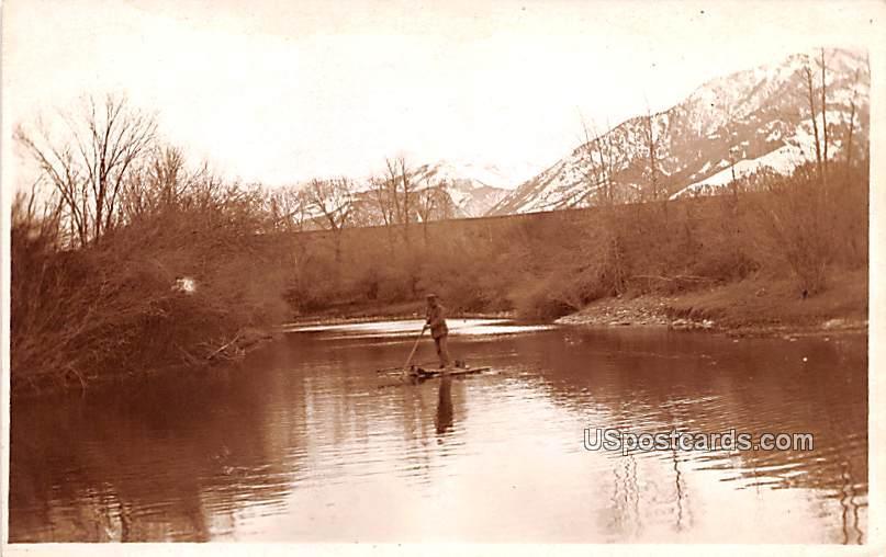 Water View - Bozeman, Montana MT Postcard