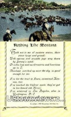 Misc, Mont     ;     Misc, Montana Postcard