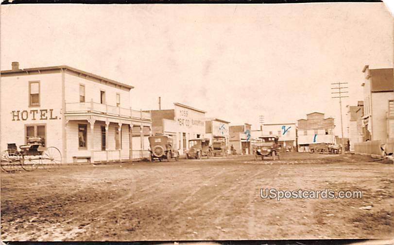 Town View - Misc, Montana MT Postcard