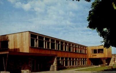 Montana State University - Missoula Postcard