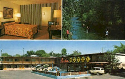 The Lodge - Missoula, Montana MT Postcard